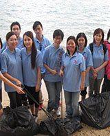 beach cleaning 2012