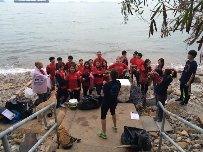 Together with the Shenzhen Fiducia team and Plastic Free Seas, we cleaned beaches in Hong Kong as part of the International Coastal Cleanup effort.