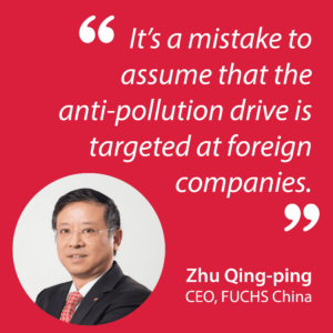 china environmental regulations